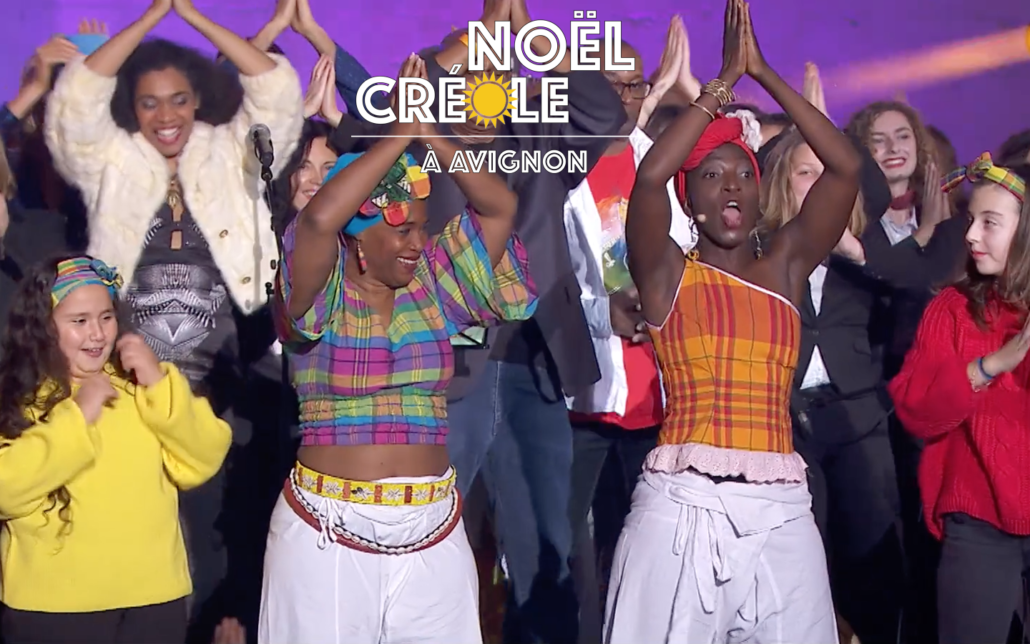 Noel creole à Avignon